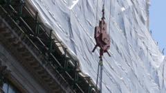 Crane hook 24 fps Stock Footage