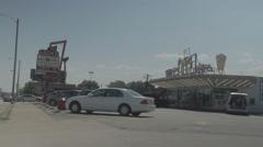Leon's Frozen Custard Stand Stock Footage
