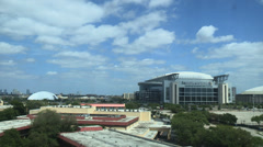 RELIANT STADIUM HOUSTON - Wide shot Stock Footage