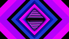 Pulse Disco Rhombus 02 Stock Footage
