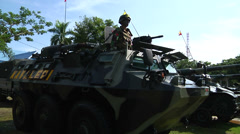 Indonesian Army 20 Stock Footage