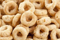 organic  whole wheat cereal - stock photo