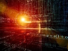 Stock Illustration of Computing Mathematics