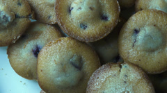 Muffins, Cupcakes, Bakery Items, Desserts, Foods Stock Footage