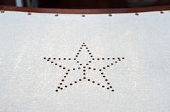 Star Ferry seat detail, Hong Kong Stock Photos