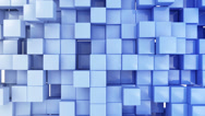 Stock Video Footage of Seamless Looping Abstract Cubes Background