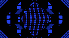 Pulse Disco Rhombus 01 Stock Footage