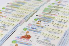 Thai lottery Stock Photos