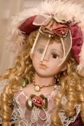 Beautiful doll Stock Photos