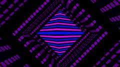Pulse Disco Rhombus 03 Stock Footage