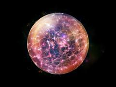 Stock Illustration of Visualization of Fractal Sphere