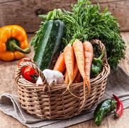 Various vegetables Stock Photos