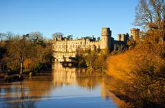 UK - Warwick Castle Stock Photos