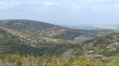 Mediterranean forest mountains Stock Footage