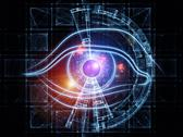 Technology eye Stock Illustration