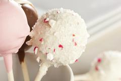 Stock Photo of homemade gourmet cakepops