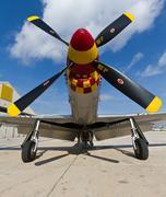 Propeller aircraft Stock Photos