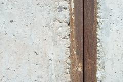 Stock Photo of concrete and metal