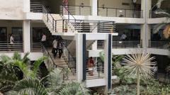 Interior of Hospital Stock Footage