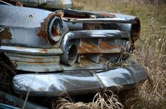 Chrome and rust Stock Photos