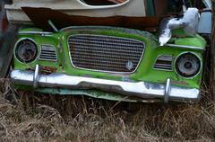 Studebaker grille Stock Photos