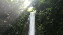 Kasaroro waterfall. Negros Island. Philippines. Stock Footage