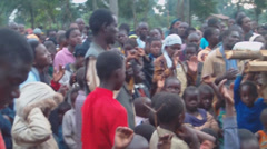Stock Video Footage of evangelistic crusade in africa