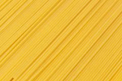 bundle of dry spaghetti - stock photo