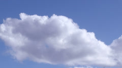 Clouds. Time lapse - stock footage