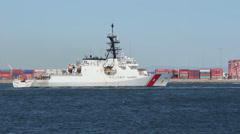 WMSL-752 USS Stratton Stock Footage
