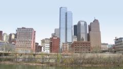 4K Pittsburgh Skyline in UltraHD 4207 Stock Footage