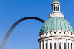 Stock Photo of St. Louis Arch