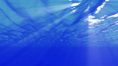 4K Underwater 40 seconds LM15 Loop Sunlight - stock footage