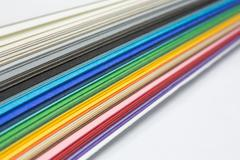 Varicolored lines Stock Photos