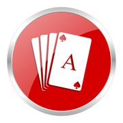 red web button isolated - stock illustration