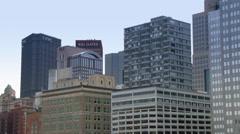 4K Pittsburgh Skyline in UltraHD 4225 Stock Footage