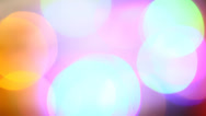 Stock Video Footage of Blinking multi coloured LED bulbs