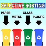 Vector selective sorting rules Stock Illustration