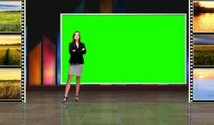 Green screen psd templates photoshop templates pond5 for Green screen backgrounds free templates