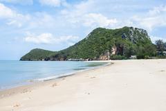 The beach and island in thailand Stock Photos