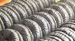 Oreo Cookies, Chocolate, Cream Filled, Snacks Stock Footage