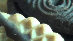 Cookies, Snacks, Bakery Items Stock Footage