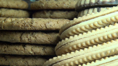 Cookies, Snacks, Bakery Items - stock footage