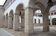 Stock Photo of Archways in Evora, Portugal