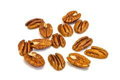 Pecan nuts . Stock Photos