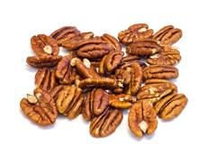Pecan nuts . Stock Photos