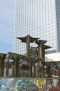Fountain of International Friendship in Berlin Stock Photos