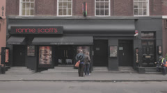 Ronnie Scotts Stock Footage