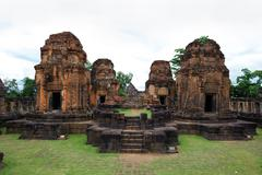 Phanom Rung stone Stock Photos