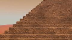 Pyramid Ascent - stock footage